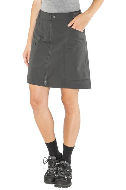 Lundhags Tiven Skirt Dame charcoal